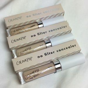 Colourpop- No Filter Concealer Trio